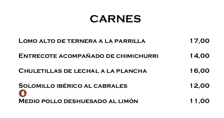 Carta del restaurante Celmart - Ensaladas